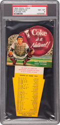 Baseball Cards:Singles (1950-1959), 1952 Coca-Cola Baseball Tips Westrum PSA NM-MT 8. ...