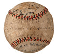 Autographs:Baseballs, 1922 Cincinnati Reds & Chicago Cubs Signed Baseball withAlexander, Rixey....