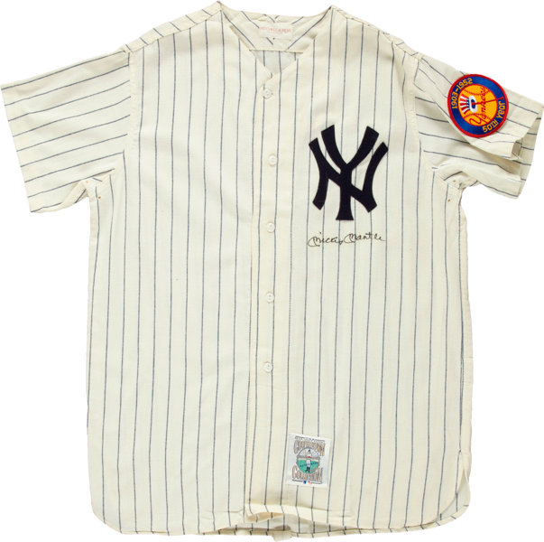 new styles f43bf 19787 1990's Mickey Mantle Signed Jersey.... Autographs Others ...