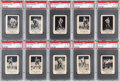 Hockey Cards:Lots, 1951-52 Laval Dairy QHL Hockey PSA-Graded Collection (11) - AllAmong the Finest Known. ...