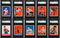 Boxing Cards:General, 1948 Leaf Boxing SGC Graded Collection (10)....