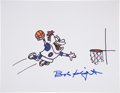 Movie/TV Memorabilia:Autographs and Signed Items, Bobby Knight: NBA Coach's Doodle for Hunger Benefiting St. Francis Food Pantries and Shelters . ...