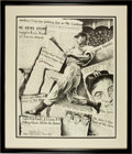 "Baseball Collectibles:Others, Joe DiMaggio Signed Oversized ""Robert Stephan Simon Artist's ProofPrint...."