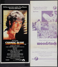"Movie Posters:Rock and Roll, Woodstock & Others Lot (Warner Brothers, 1970). AustralianDaybills (5) (12"" X 30"", 13.5"" X 28"", 13"" X 27"" & 13"" X 30"").Roc... (Total: 5 Items)"