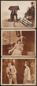 """Movie Posters:Comedy, Who Cares? (Select, 1919). Lobby Cards (3) (11"""" X 14""""). Comedy..... (Total: 3 Items)"""