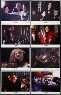 "The Addams Family (Paramount, 1991). Lobby Card Set of 8 (11"" X 14""). Comedy. ... (Total: 8 Items)"