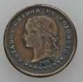 Colombia, Colombia: Ten Centavos 1874 -1920 Study Lot,... (Total: 15 coins)