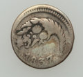 Colombia, Colombia: Bogota Cuartilla 1837 -47 Sextet,... (Total: 6 coins)