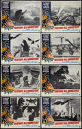 """Movie Posters:Science Fiction, Destroy All Monsters (American International, 1969). Lobby Card Setof 8 (11"""" X 14""""). Science Fiction.. ... (Total: 8 Items)"""