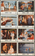"""Movie Posters:Adult, Garden of Eden (Excelsior, 1954). Lobby Card Set of 8 (11"""" X 14""""). Adult.. ... (Total: 8 Items)"""