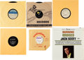 Music Memorabilia:Recordings, Jack Scott and Others Group of 6. ... (Total: 6 Items)
