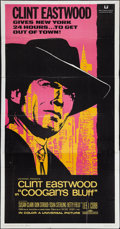 "Movie Posters:Crime, Coogan's Bluff (Universal, 1968). Three Sheet (41"" X 81""). Crime....."