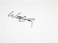 Music Memorabilia:Autographs and Signed Items, Willie Nelson: Musician's Doodle for Hunger Benefiting St.Francis Food Pantries and Shelters . ...