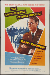 """The Court-Martial of Billy Mitchell & Other Lot (Warner Brothers, 1956). One Sheets (2) (27"""" X 41""""). War..."""