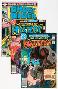 Bronze Age (1970-1979):Horror, House of Mystery/Ghost Rider Group (DC, 1979-81) Condition: AverageNM-.... (Total: 5 Comic Books)