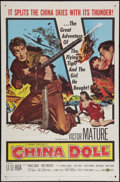"Movie Posters:War, China Doll (United Artists, 1958). One Sheet (27"" X 41""). War.. ..."