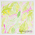 Movie/TV Memorabilia:Autographs and Signed Items, Lilly Pulitzer: Fashion Designer's Doodle for HungerBenefiting St. Francis Food Pantries and Shelters . ...