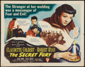 "Movie Posters:Mystery, The Secret Fury (RKO, 1950). Half Sheet (22"" X 28"") Style B.Mystery.. ..."
