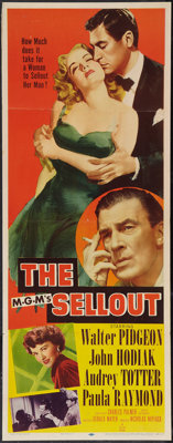"The Sellout (MGM, 1952). Insert (14"" X 36""). Crime"