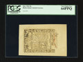 Colonial Notes:Rhode Island, Rhode Island May 1786 30s PCGS Very Choice New 64PPQ.. ...