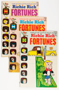 Bronze Age (1970-1979):Humor, Richie Rich Fortunes #1-63 File Copy Short Box Group (Harvey, 1971-82) Condition: Average NM-....