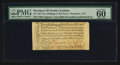 Colonial Notes:North Carolina, North Carolina December, 1771 2s6d House PMG Uncirculated 60.. ...