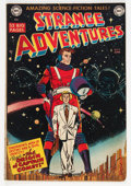 Golden Age (1938-1955):Science Fiction, Strange Adventures #9 (DC, 1951) Condition: VG-....