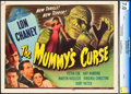 "Movie Posters:Horror, The Mummy's Curse (Universal, 1944). CGC Graded Title Lobby Card(11"" X 14"").. ..."