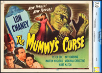 "The Mummy's Curse (Universal, 1944). CGC Graded Title Lobby Card (11"" X 14"")"