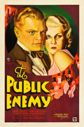 "Movie Posters:Crime, The Public Enemy (Warner Brothers, 1931). One Sheet (27"" X 41"") Style A.. ..."