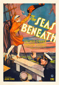 "Movie Posters:War, The Seas Beneath (Fox, 1931). One Sheet (27"" X 41"").. ..."