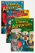 Golden Age (1938-1955):Science Fiction, Strange Adventures #14-20 Group (DC, 1951-52) Condition: AverageVG-.... (Total: 7 Comic Books)