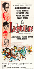 """Movie Posters:Comedy, The Ladykillers (Rank, 1955). British Three Sheet (39"""" X 78.5"""").. ..."""