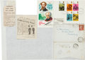 Autographs:Authors, Charles Dickens Envelope Addressed in His Own Hand....