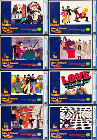 """Yellow Submarine (United Artists, 1968). CGC Graded Lobby Card Set of 8 (11"""" X 14""""). ... (Total: 8 Items)"""