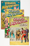 Golden Age (1938-1955):Science Fiction, Strange Adventures Group (DC, 1953-54) Condition: Average GD+....(Total: 14 Comic Books)