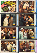 "Movie Posters:Mystery, Charlie Chan in Panama (20th Century Fox, 1940). CGC Graded LobbyCard Set of 8 (11"" X 14"").. ... (Total: 8 Items)"