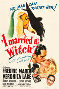 "Movie Posters:Fantasy, I Married a Witch (United Artists, 1942). One Sheet (27"" X 41"")Style A.. ..."
