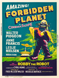"Forbidden Planet (MGM, 1956). Poster (30"" X 40"")"