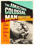 "Movie Posters:Science Fiction, The Amazing Colossal Man (American International, 1957). Poster(30"" X 40"").. ..."