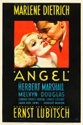 "Movie Posters:Drama, Angel (Paramount, 1937). One Sheet (27"" X 41"").. ..."
