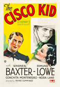 "Movie Posters:Western, The Cisco Kid (Fox, 1931). One Sheet (28.5"" X 41"").. ..."
