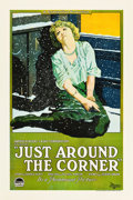"Movie Posters:Drama, Just Around the Corner (Paramount, 1921). One Sheet (27"" X 41"")....."