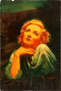 "Movie Posters:Drama, Blonde Venus (Paramount, 1932). Special One Sheet (25"" X 38"").. ..."