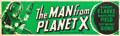 "Movie Posters:Science Fiction, The Man from Planet X (United Artists, 1951). Banner (24"" X 82"")....."