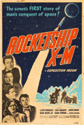 "Movie Posters:Science Fiction, Rocketship X-M (Lippert, 1950). Poster (40"" X 60"").. ..."