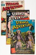 Golden Age (1938-1955):Science Fiction, Strange Adventures Group (DC, 1950-51) Condition: Average GD-....(Total: 9 Comic Books)