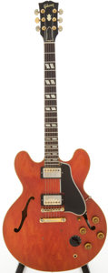 Musical Instruments:Electric Guitars, 1959 Gibson ES-345 Cherry Semi-Hollow Body Electric Guitar, Serial# A31038....