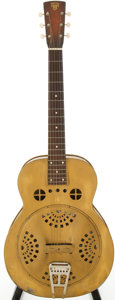 Musical Instruments:Acoustic Guitars, 1935 Dobro 32 Gold Resonator Guitar, Serial # 5817....