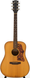 Musical Instruments:Acoustic Guitars, 1970 Gibson J-55 Natural Acoustic Guitar, Serial # A315606....
